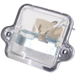Lanterna de Placa Fusca   Cristal