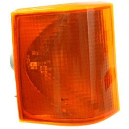 Lanterna Dianteira D-20/A-20/C-20 93/... Acrílico LE Âmbar