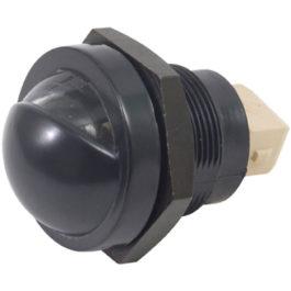 Lanterna de Placa F-1000/Ranger 98/... c/ Porca (Policarbonato)  Cristal