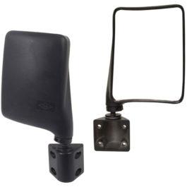 Espelho Retrovisor Externo D-20/A-20/C-20 e Adaptações  Bilateral Preto