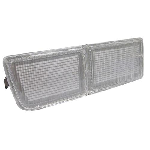 Aplique Lanterna Dianteira Golf Glx/Gl 94/98 (Dupla) Acrílico LD Cristal