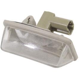 Lanterna de Placa Corolla c/ Soquete (Acrílico) LD/LE Cristal