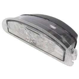 Lanterna de Placa Clio Policarbonato  Cristal