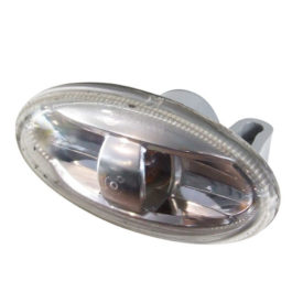 Lanterna Lateral 307 Acrílico s/ Soquete Bilateral Cristal