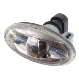 Lanterna Lateral 307 Acrílico c/ Soquete Bilateral Cristal