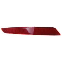 Refletor do Parachoque Traseiro Fiesta Sedan Rocan  LE Vermelha