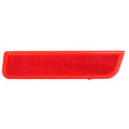 Refletor do Parachoque Traseiro Duster  LD Vermelha