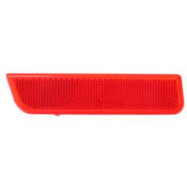 Refletor do Parachoque Traseiro Duster  LE Vermelha