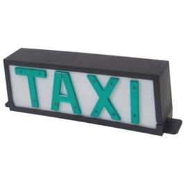 Luminoso de Taxi Universal Pequeno Fixo  Preto
