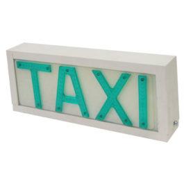 Luminoso de Taxi Universal Grande Fixo  Branco