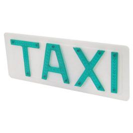 Placa p/ Luminoso de Taxi Universal Grande
